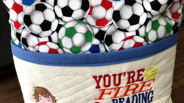 Football Reading Cushion