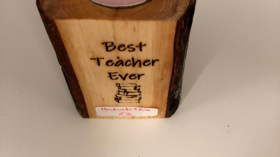 Tea light Candle Wooden