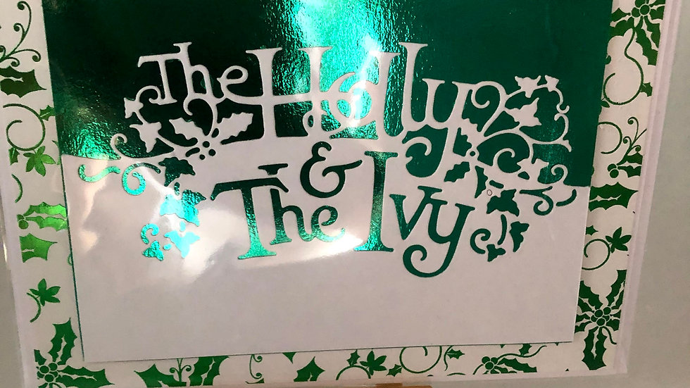 Holly and the Ivy  card