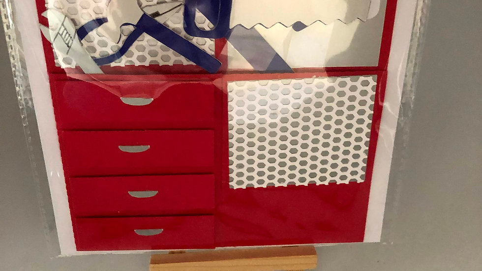 Happy Father's Day Tool Box Pop Up Card