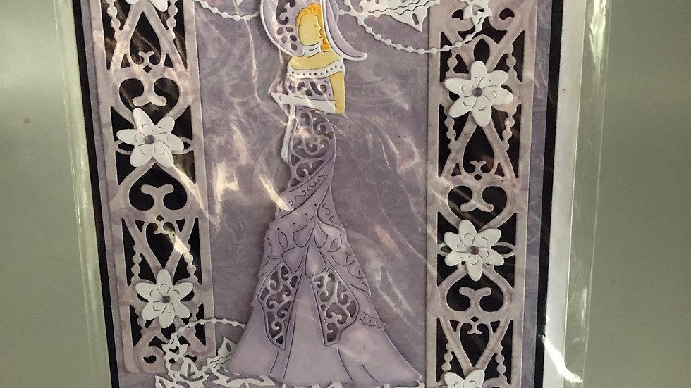 Stunning Lady Card