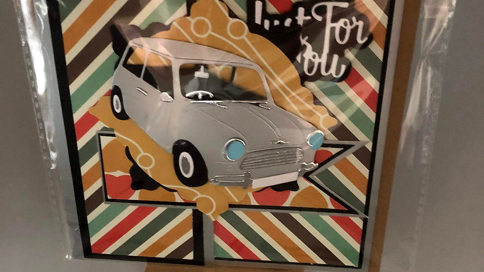 "Mini Car ""Just for You"""