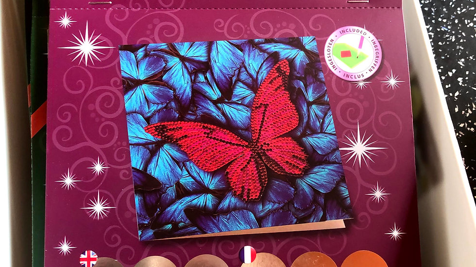Crystal Art Card Kit