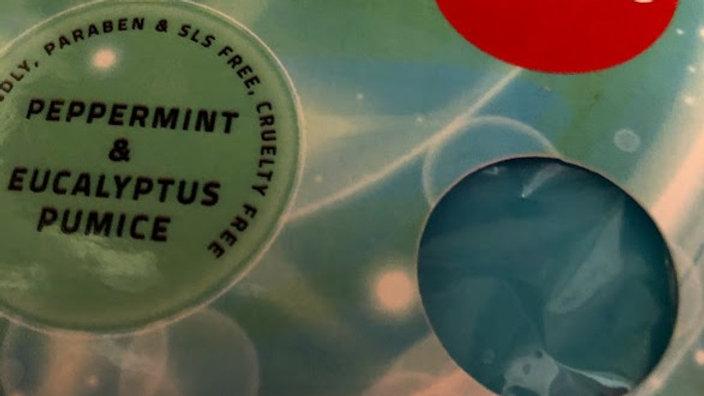 Peppermint & Eucalyptus Soap Slice