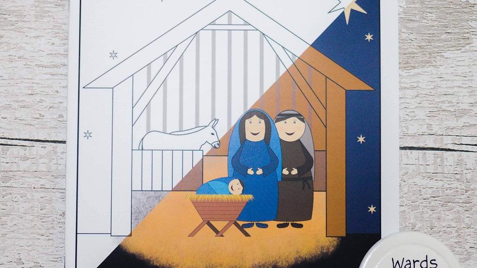 Nativity Coloring Book