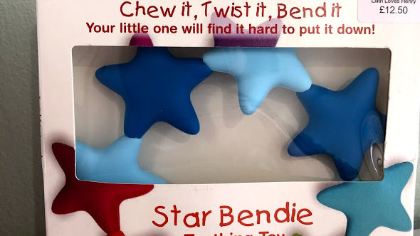 Star Bendie Teething Toy