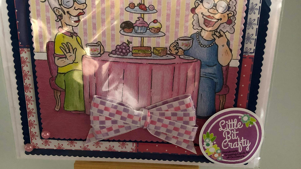 Afternoon Tea/Cake Card