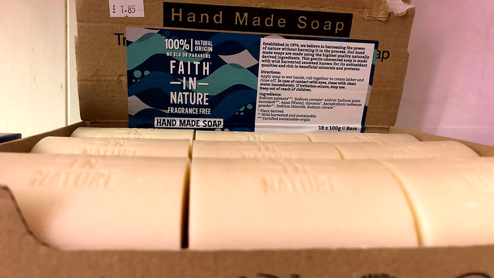 Faith In Nature Unwrapped Soap