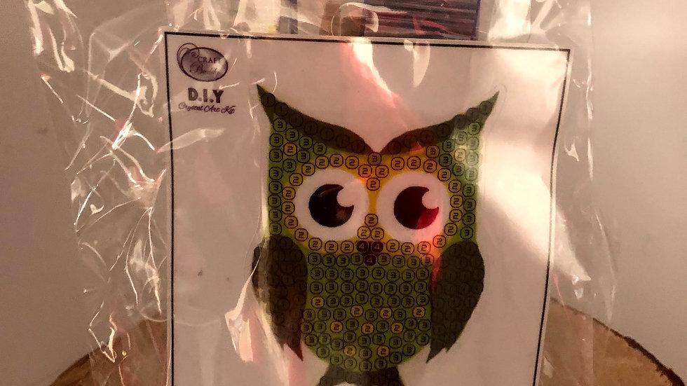 Owl Buddy Crystal Art