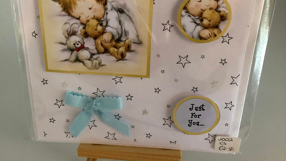 New Baby Just for You Card