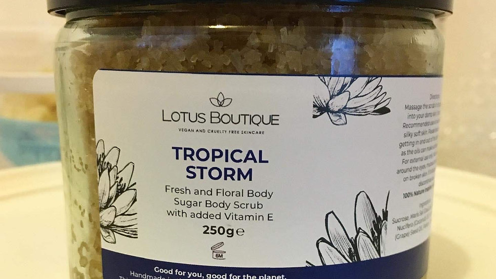 Tropical Storm Body Scrub
