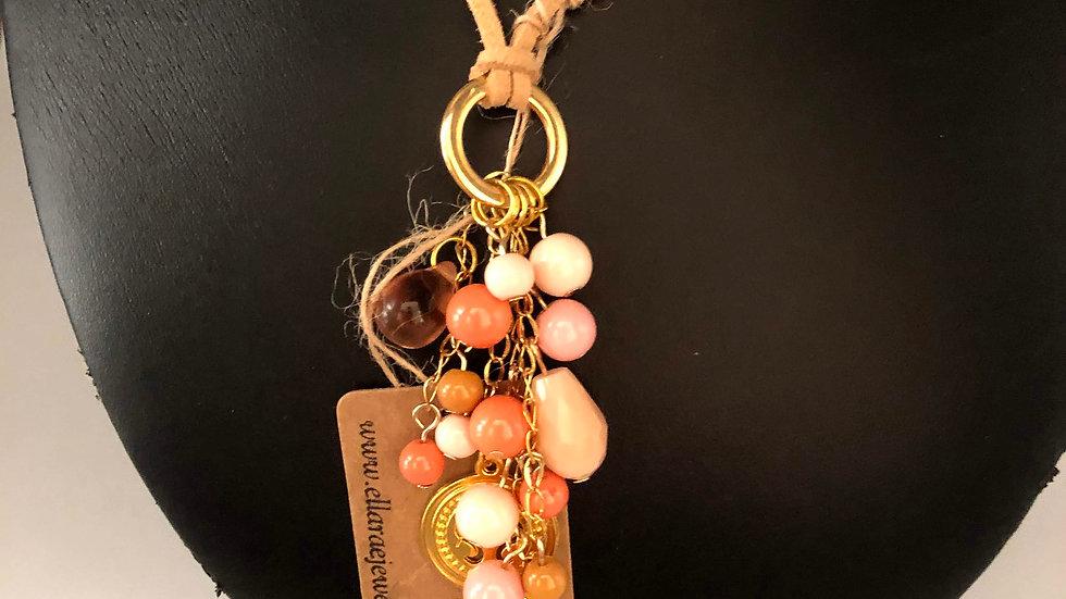 Gemstone Rope Necklace