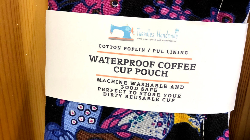 Waterproof Coffee Cup pouch