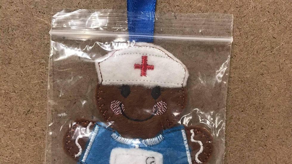 Nurse Gingerbread person