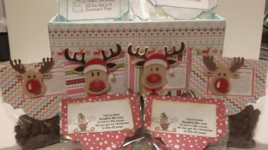 Snowman, Elf or Reindeer Poop