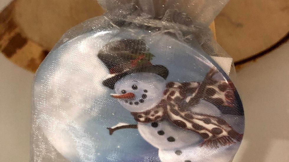 Snowman Mirror