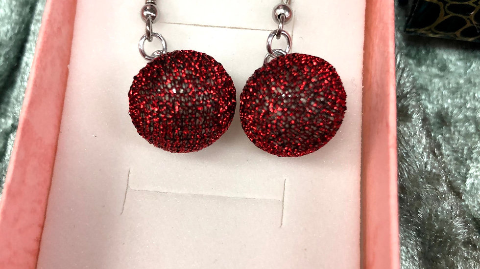 Bauble Gltter Earrings