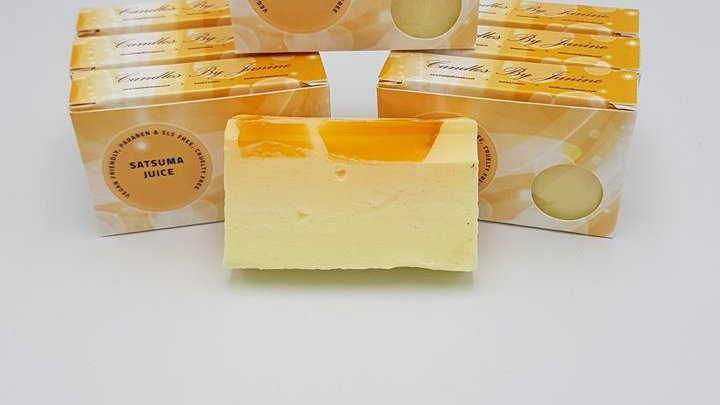 Satsuma Juice Soap Slice