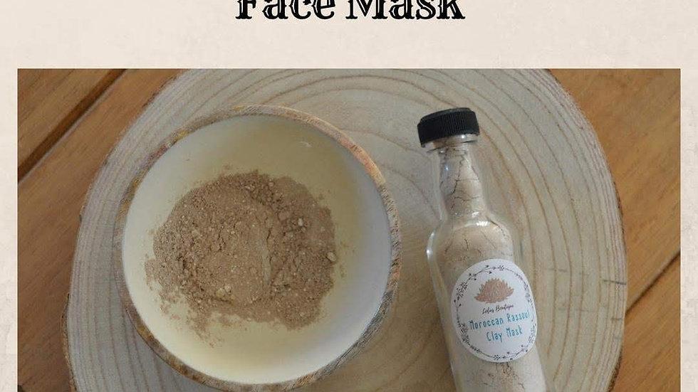 Moroccan Rassoul Face Mask