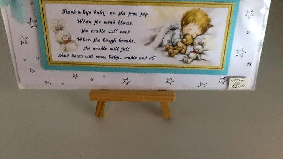 Nursery Rhyme Card