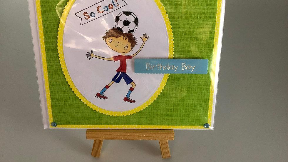 So Cool Birthday Boy Card