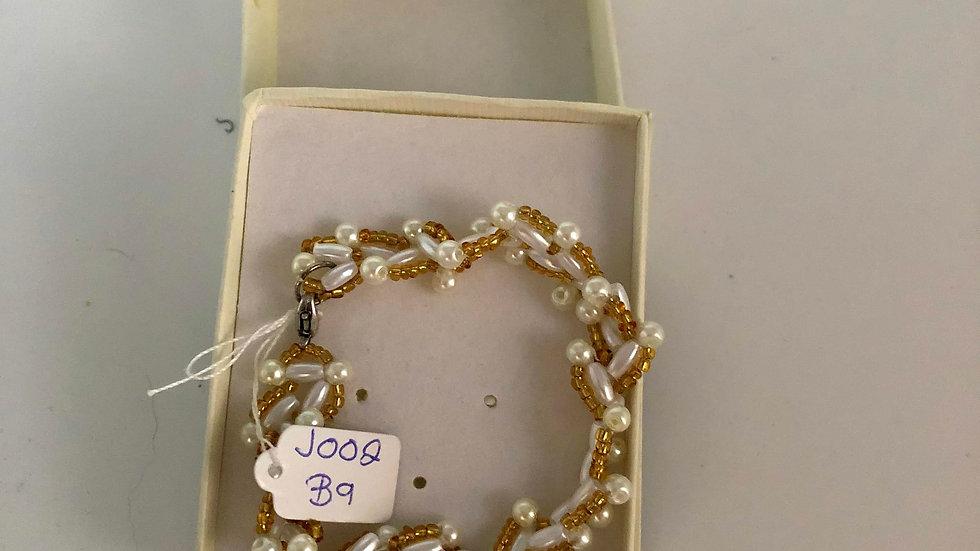 Rice Gold Seed Bracelet