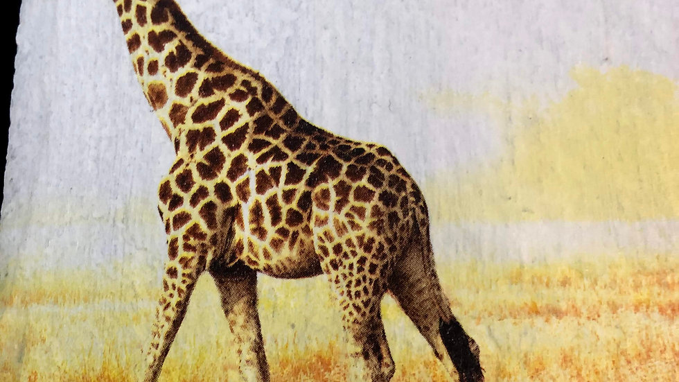 Slate Plaque -Giraffe