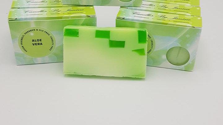 Aloe Vera Soap Slice
