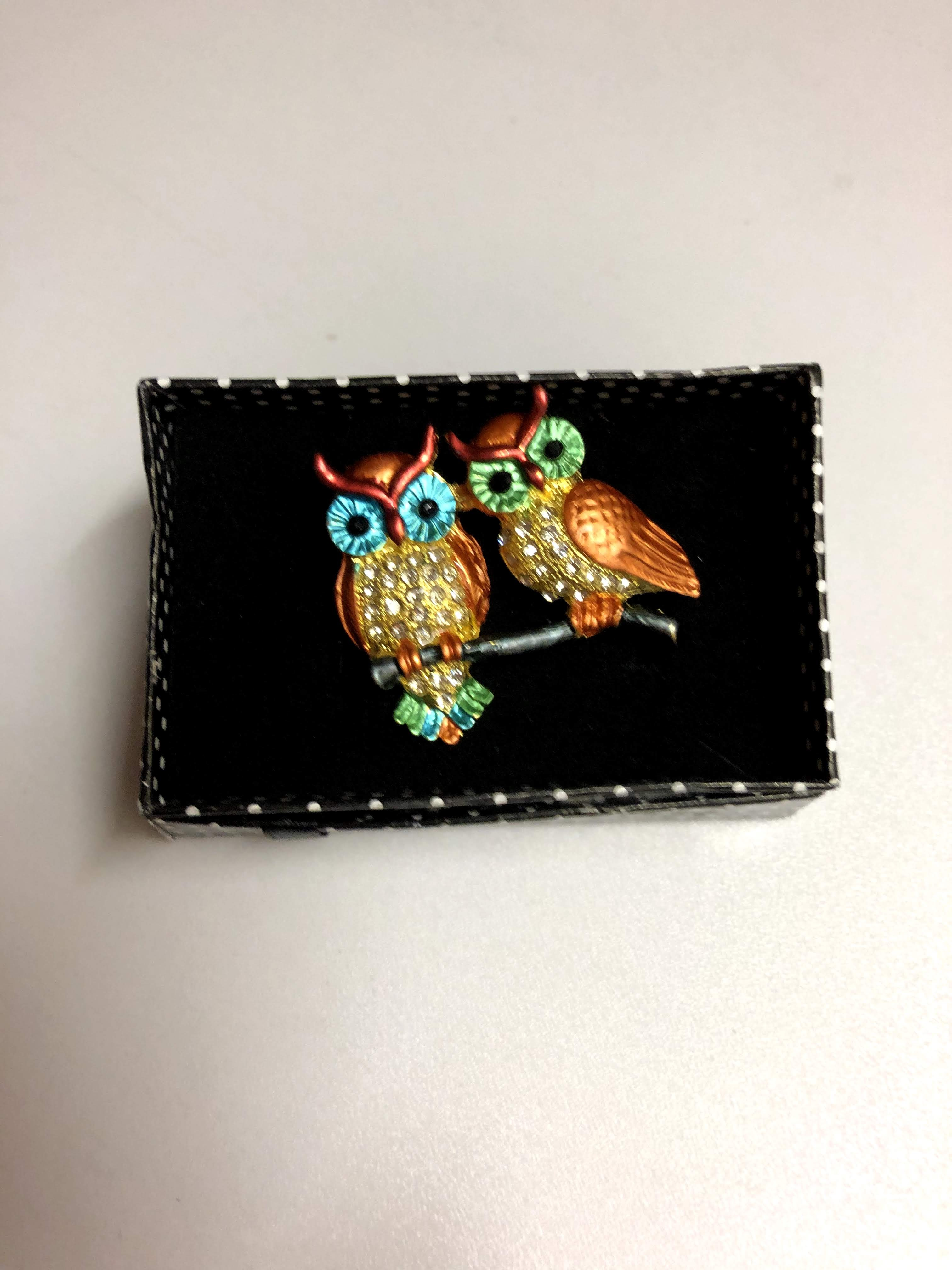 Thumbnail: Owl Brooch