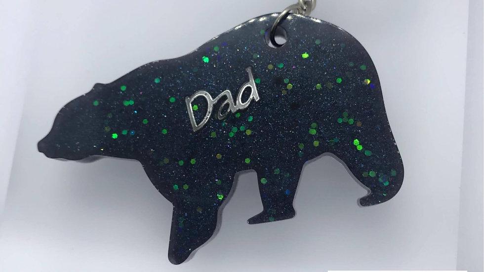 Dad Keyrings