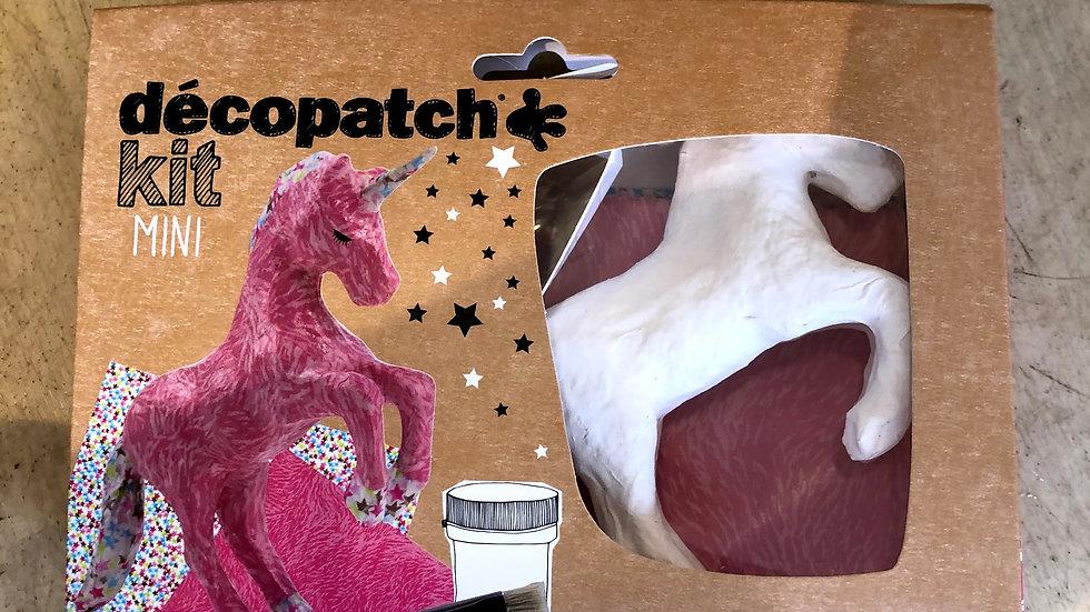 Unicorn Decopatch Kit