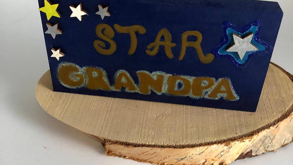 Star Grandpa Block