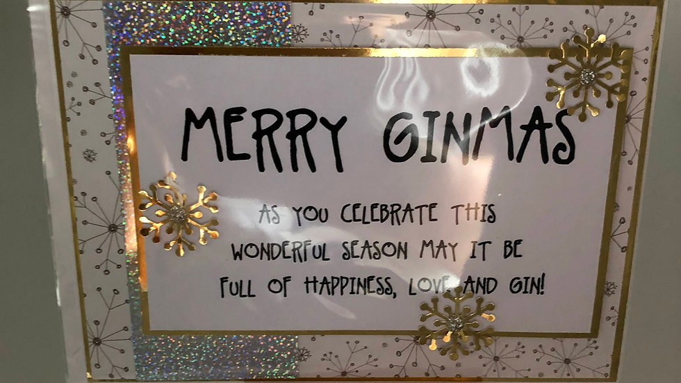 Merry Gimmas card