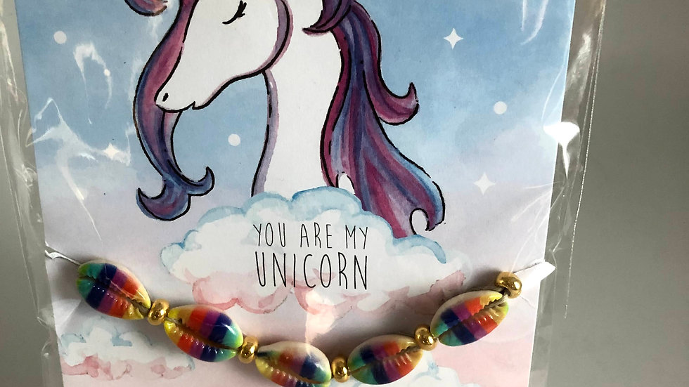 Shell Rainbow Bracelets