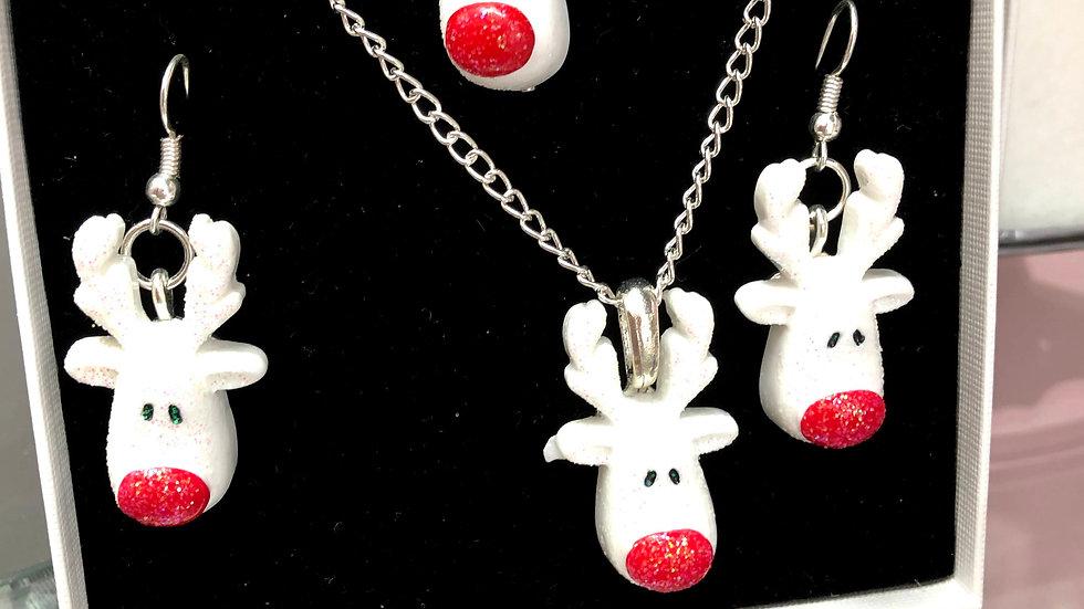 Rudolph Jewellery Set