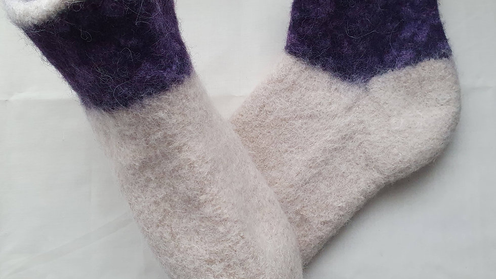 Wool/Alpaca Mix Slippers