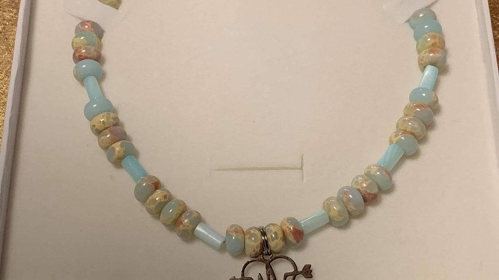 Jasper & Shell Necklace