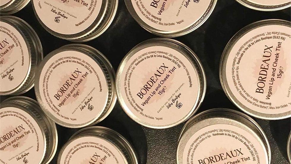 Bordeaux Lip Balm and Cheek Tint
