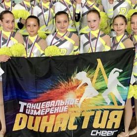 Тольяттинские спортсменки - призёры соревнований по чир спорту