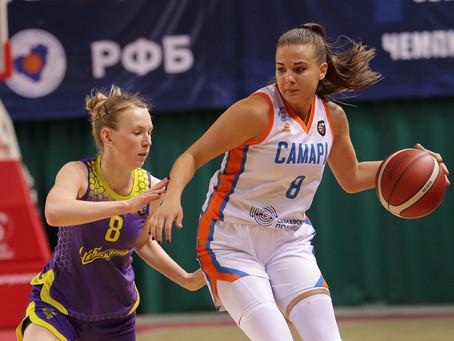 Баскетболистки «Самары» с победы стартовали в плей-офф
