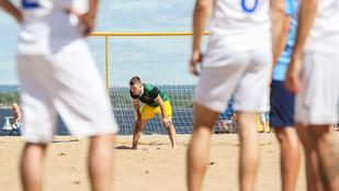 В Самаре пройдёт Кубок области по пляжному футболу