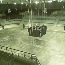 Продолжается строительство Дворца спорта на Молодогвардейской