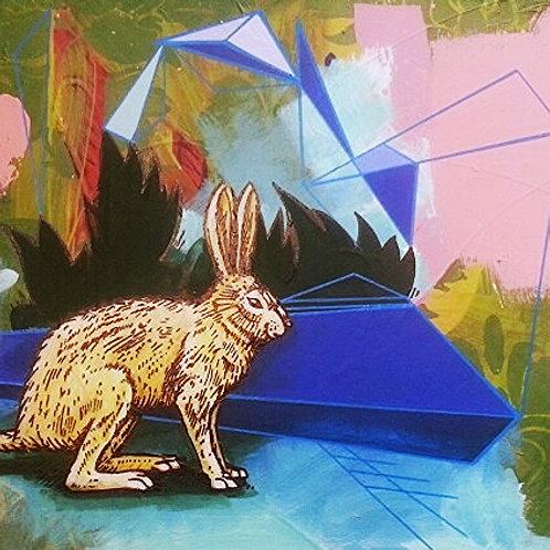 Bunnyland Original Painting