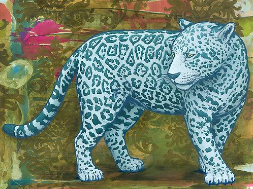 Big Cat Print on Paper