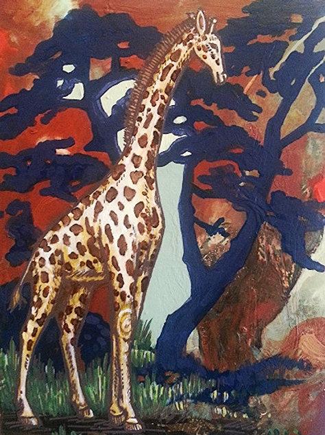 G.Raffe Original Painting