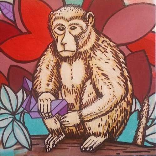 Rubik               Original Painting