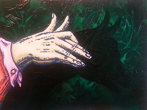 Shadow Puppet Show Original Painting