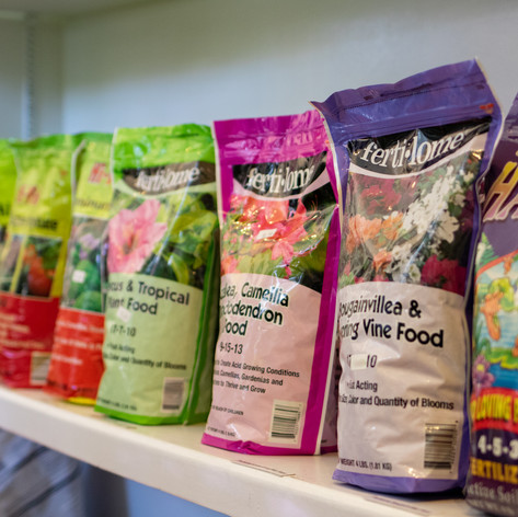 Assorted Plant Food