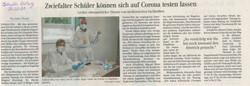 21_Schwäbische Zeitung_Schnelltests_26.0