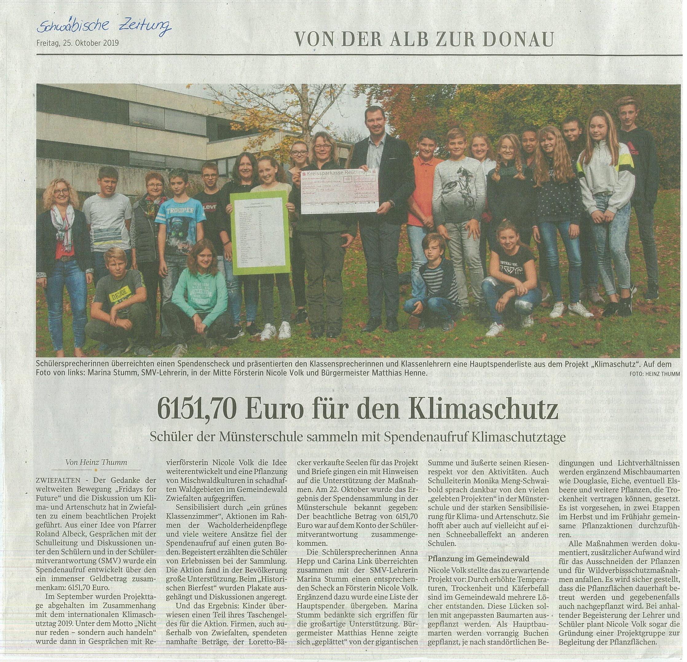 19_Schwaebische_Zeitung_25.10.2019_Klima